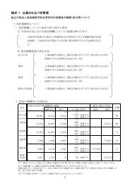 役職員の報酬・給与等について[PDF 276KB] - 放射線医学総合研究所