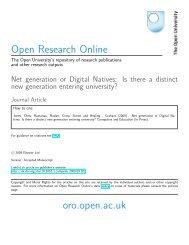 Net Generation or Digital Natives - Many Too Many