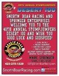 2010 Desert 100 Program - Stumpjumpers Motorcycle Club - Page 2