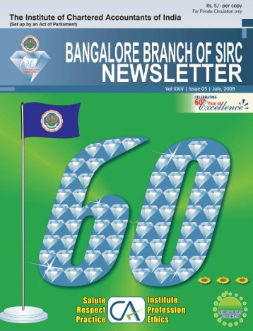Blore Br_July_09_Newsletter.pmd - Bangalore Branch of SIRC