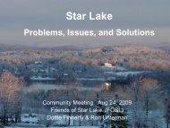 Star Lake - Mount Holly