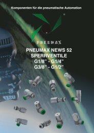 (bar) A n  s te u e rd ru c k (b a r) - Pneumax GmbH