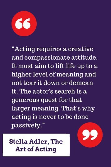 Stella Adler, The Art of Acting