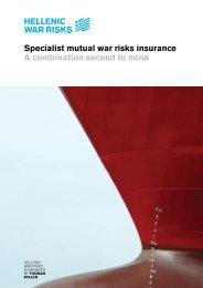 Specialist mutual war risk insurance - Thomas Miller