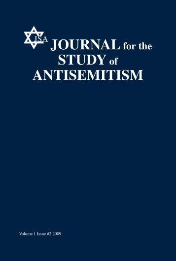 Journal for the Study of Antisemitism