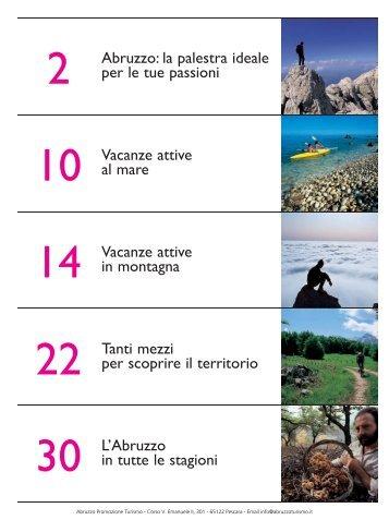 I monti d'Abruzzo in estate - Abruzzo Promozione Turismo