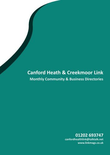 download our PDF media pack - The Canford Heath Link