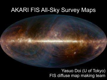 AKARI FIS All-Sky Survey Maps