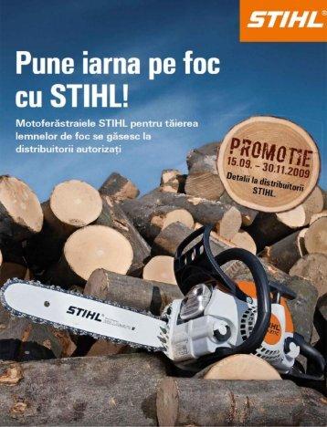 Pune iarna pe foc cu STIHL - Tools.Store