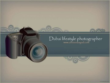 Dubai Female Photographer