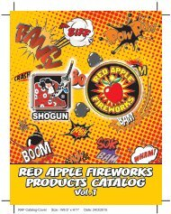 2015 Red Apple® Fireworks - Shogun Fireworks Product Lineup