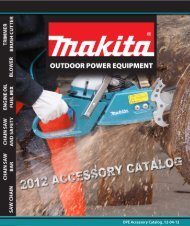 Accessory Catalog (PDF) - Makita