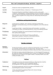 Baubeschreibung mit Keller Angebot 1 - Podstawski