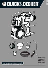 Instruction Manual (English) - Black & Decker