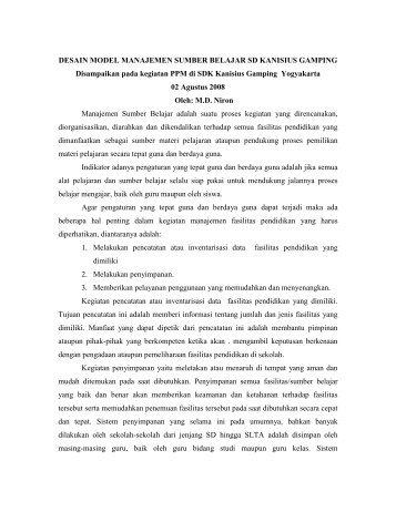 MANAJEMEN SUMBER BELAJAR SD KANISISUS GAMPING.pdf