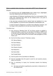 Resolution establishing committee