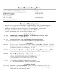 Susan Crate CV.pdf - Center for Climate Change Communication