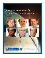 Global Warming's Six Americas in May 2011 - Yale School of ...