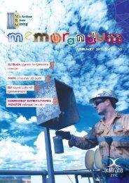 XSTRA0052 MRM ED 20 Newsletter ONLINE - McArthur River Mining