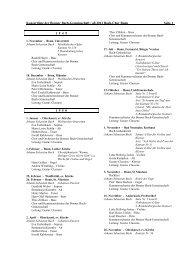 Konzertliste der Bonner Bach-Gemeinschaft / ab ... - Bach-Chor Bonn