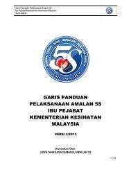 garis panduan pelaksanaan amalan 5s ibu pejabat kementerian