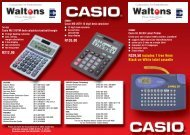 R329,50 includes 1 free 9mm Black-on-White label cassette - Waltons