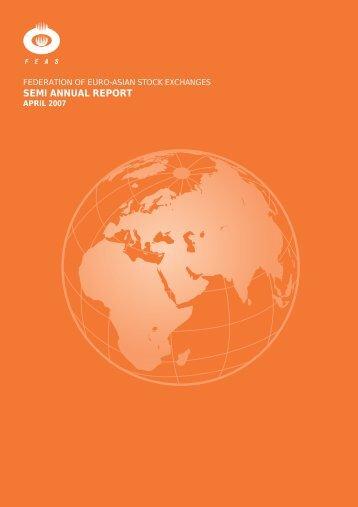 SEMI ANNUAL REPORT - FEAS