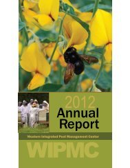 2012 Annual Report - the Western Integrated Pest Management ...