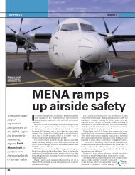 MENA ramps up airside safety