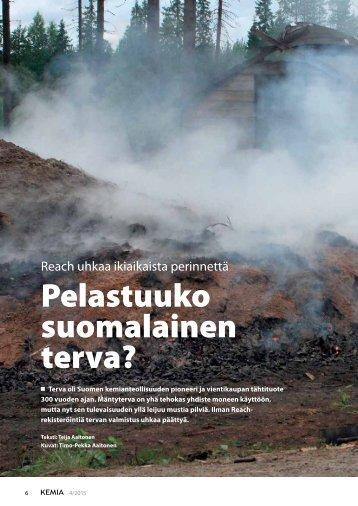 Pelastuuko_suomalainen_terva_Kemia-lehti_12_06_2015
