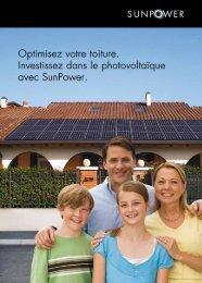 Brochure de présentation Sunpower - SB ENERGY