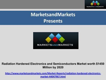 Radiation Hardened Electronics & Semiconductors Market by Component