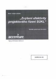 """""""Zvýšení efekýivity - E-ZAK SUKL - Státní ústav pro kontrolu léčiv"""