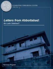 Letters from Abbottabad: Bin Ladin Sidelined?