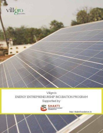 Development of Rural Energy Service - Shakti Sustainable Energy Foundation