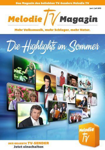Melodie TV Magazin Juni/Juli 2015