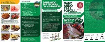 Locandina - Danzerini Udinesi