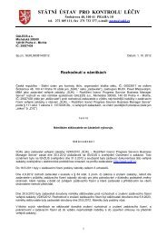Rozhodnutí o námitkách-GELEOS - E-ZAK SUKL - Státní ústav pro ...