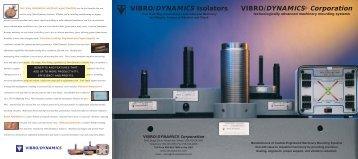 General Brochure - Vibro/Dynamics Corporation