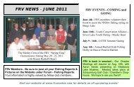 FRV NEWS - JUNE 2011 - Fox River Valley Muskies Inc