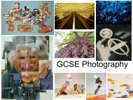 GCSE Photography