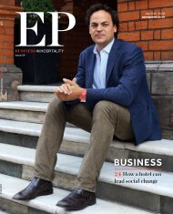 EP BUSINESS IN HOSPITALITY