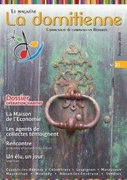 Le Magazine N°21 - Printemps 2010 - Communauté de communes ...