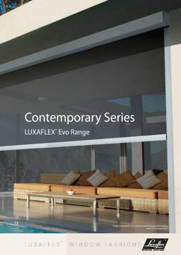 Contemporary Series - Luxaflex