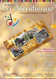 Le Magazine N°20 - Hiver 2009-2010 - Communauté de communes ...
