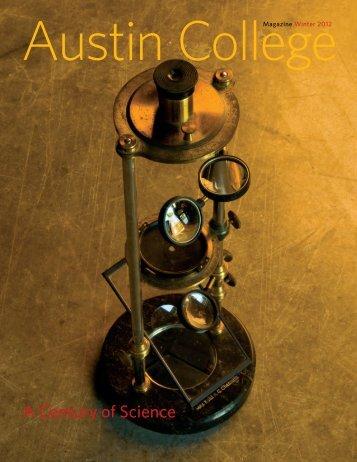 Winter 2012 - Austin College Magazine
