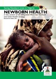 Saving Newborn Lives in Nigeria - Countdown to 2015