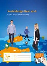 Ausbildungs-Navi 2016 für den Landkreis Hersfeld-Rotenburg