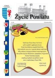 Życie Powiatu - Starostwo Powiatowe w Tczewie