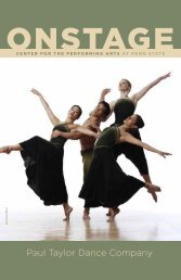 Paul Taylor Dance Company - Center for the Performing Arts